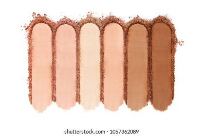 Crushed Powder Foundation For Makeup.