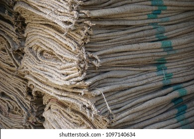 Crushed Sack  Woven, Close-up