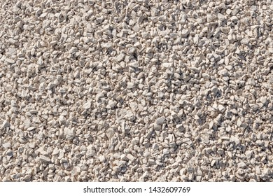 Crushed stone background of limestone rocks. road gravel. natural gravel texture, gravel gravel background