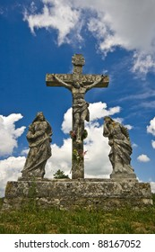 The crusifiction of Jesus Christ in Zminj