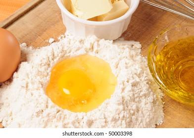 Crust ingredient.