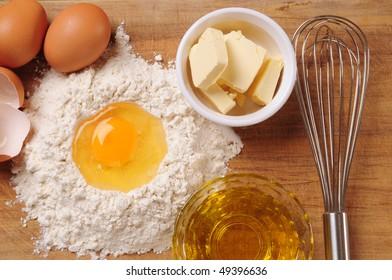 Crust ingredients.