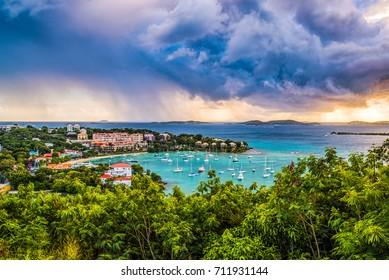 Cruz Bay, St. John, United States Virgin Islands.