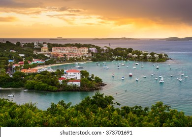 Cruz Bay, St. John, USVI.