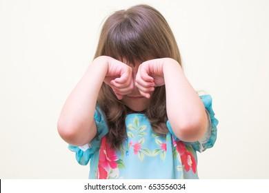 crying Girl child