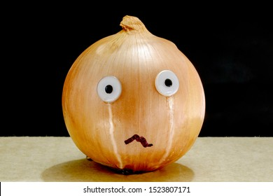 Crying onion, a parody on onions causing people to cry when peeling.