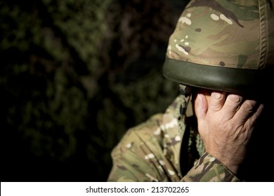 Crying Soldier