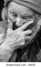 Crying time for grandma