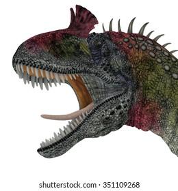 Cryolophosaurus Dinosaur Head - Cryolophosaurus was a theropod dinosaur that lived in Antarctica during the Jurassic Period.
