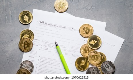 tax form for cryptocurrency