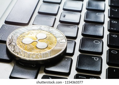 Crypto Ripple Coin currency Bitcoin computer technology