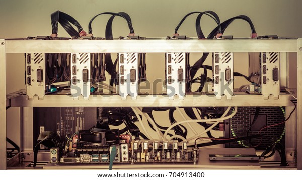 full cryptocurrency mining rigs