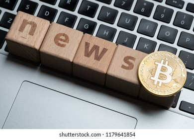 Cryptocurrency news concept