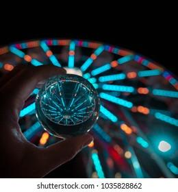 crystal ball Ferris wheel