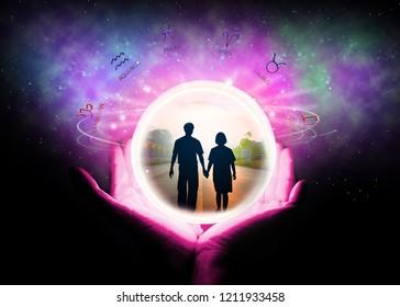Marriage Astrologer Images, Stock Photos & Vectors | Shutterstock