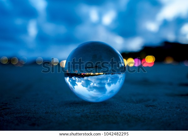 Crystal ball reflection
