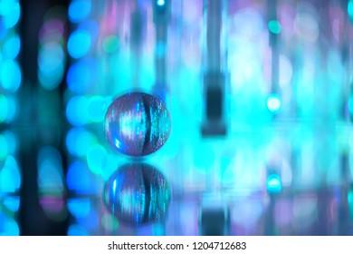 Crystal ball at Tokyo
