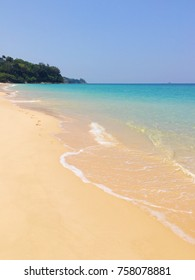 Crystal beach and white sand