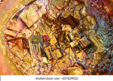 Crystal of bismuth