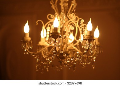 crystal crystal chandelier