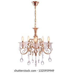 Crystal chandelier insulated