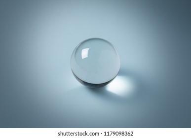 crystal clear ball, model