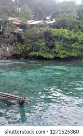 Crystal clear water at Iboih Beach, Sabang Island