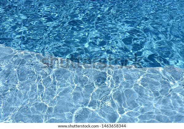 Crystal Clear Water Swimming Pool Royalty Free Stock Image