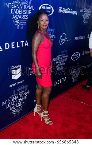 Crystal Fox arrives at the 2017 Andrew Young International Leadership Awards and 85th Birthday Tribute on June 03rd, 2017 in Atlanta, Georgia at Philips Arena - USA