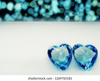 crystal gem two hearts love valentine's day background