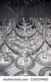 crystal glass wine background