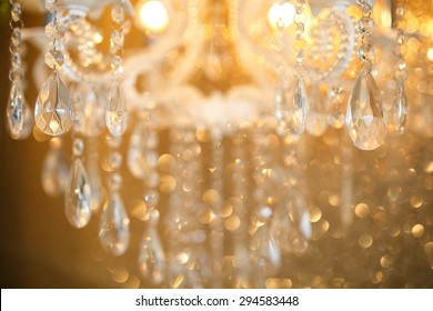 crystal lamp details