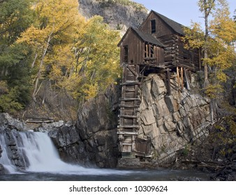 Crystal Mill in Fall.