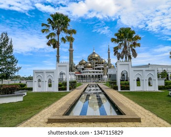 Crystal mosque in Kuala Terengganu, Malaysia