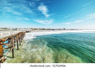 Crystal pier in San Diego, California