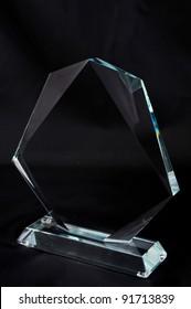Crystal Plaque award