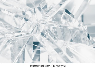 crystal refractions background