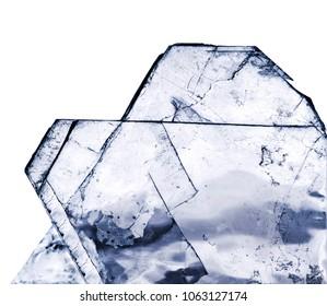 the crystal salt, NaCl