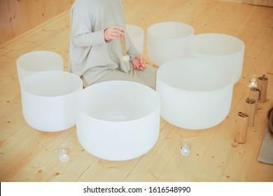 Crystal Singing Bowls - Sound healing