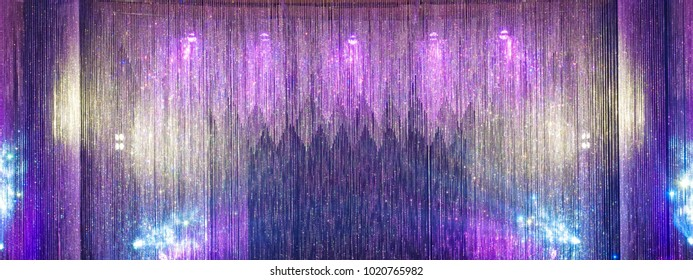crystal wall background