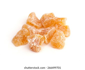 Crystallized Ginger Root (Zingiber officinale)