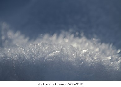 crystals of ice