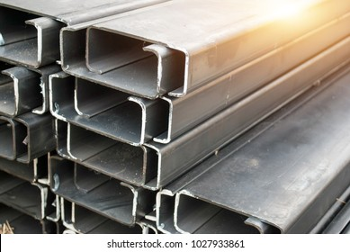 C-shaped steel  for construction and structure building