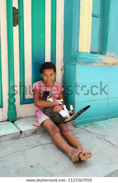 Cuba Havana 07 April 2016 Little Stock Photo Edit Now 1125367058