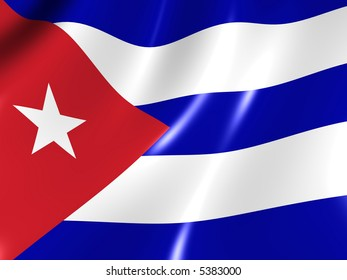 Cuba. National Flag