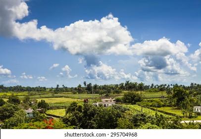 Cuba Santa Clara landscape