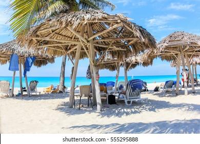 cuban beach in varadero