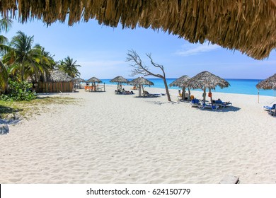 cuban beach in varadero