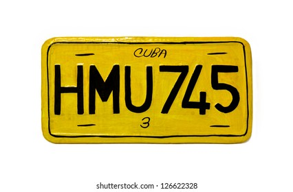 cuban car registration memory