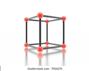 cube (high resolution 3D image)
